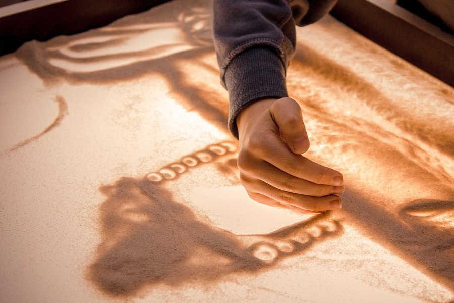 песочная терапия в спб